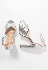 Anna Field - Sandali con tacco - silver - 3
