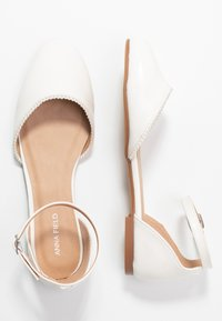 Anna Field - Ankle strap ballet pumps - white - 3