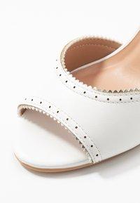 Anna Field - Høye hæler med åpen front - white - 2