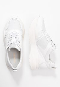 Anna Field - LEATHER TRAINERS - Trainers - white - 3