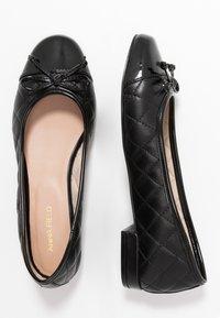 Anna Field - LEATHER BALLET PUMPS - Ballet pumps - black - 3
