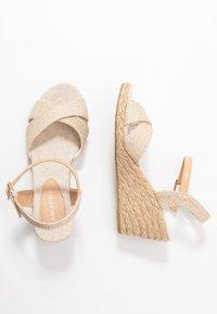 Anna Field - Wedge sandals - beige - 3