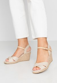Anna Field - Wedge sandals - beige - 0