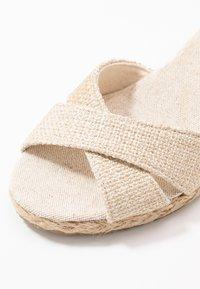 Anna Field - Wedge sandals - beige - 2