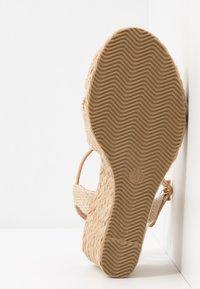 Anna Field - Wedge sandals - beige - 6