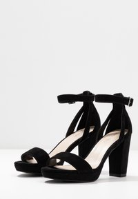 Anna Field - LEATHER HEELED SANDALS - High heeled sandals - black - 4
