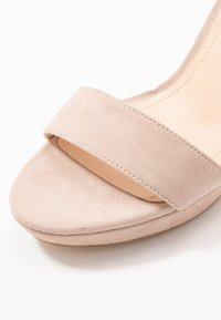 Anna Field - LEATHER HEELED SANDALS - Sandaler med høye hæler - nude - 2