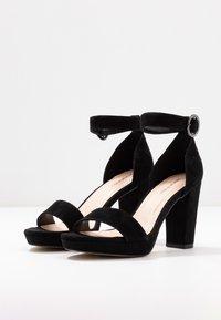 Anna Field - LEATHER HEELED SANDALS - High heeled sandals - black - 4