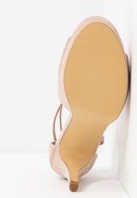 Anna Field - LEATHER HEELED SANDALS - Sandály na vysokém podpatku - nude - 6