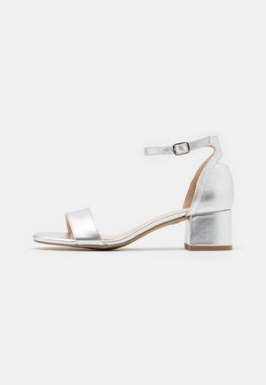 LEATHER  - Sandals - silver