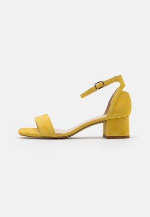 LEATHER  - Sandaler - yellow