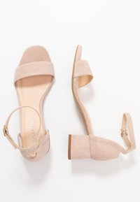 Anna Field - LEATHER SANDALS - Sandali - nude - 3