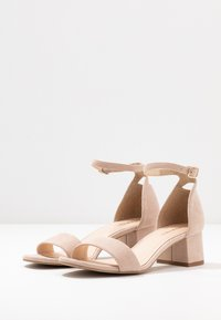 Anna Field - LEATHER SANDALS - Sandali - nude - 4