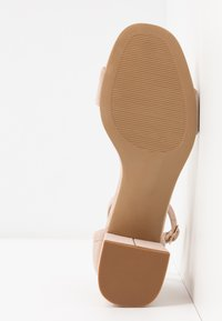 Anna Field - LEATHER SANDALS - Sandali - nude - 6