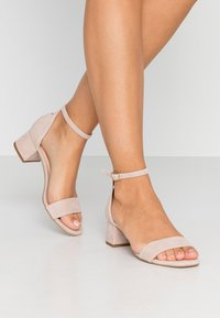 Anna Field - LEATHER SANDALS - Sandali - nude - 0