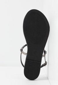 Anna Field Wide Fit - Flip Flops - gunmetal - 6