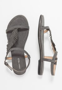 Anna Field - Teensandalen - grey - 3