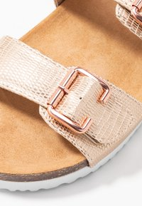 Anna Field - Pantoffels - rose gold - 2