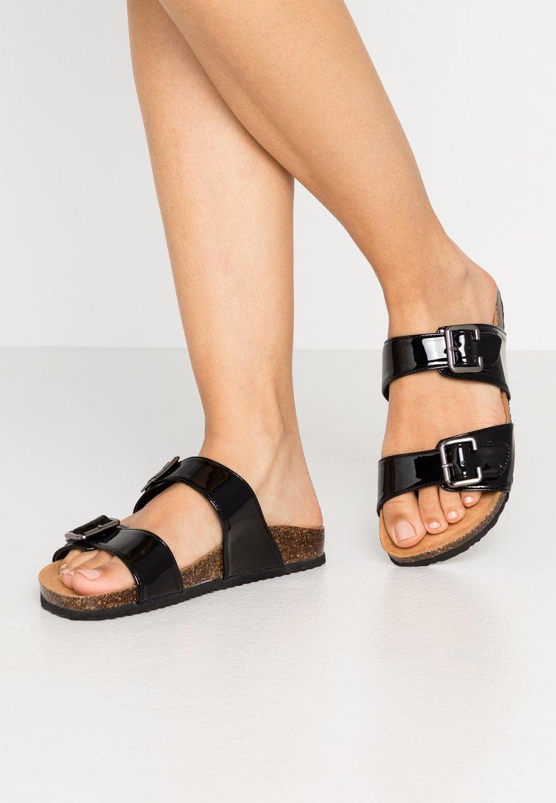 Anna Field - Domácí obuv - black