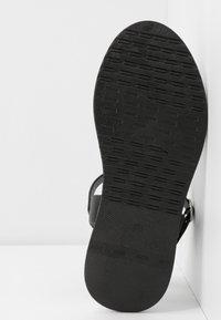 Anna Field - Wedge sandals - black - 6