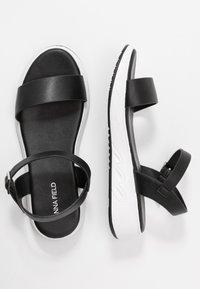 Anna Field - Wedge sandals - black - 3