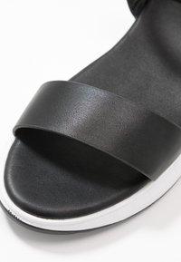 Anna Field - Wedge sandals - black - 2