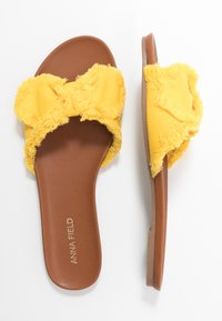 Anna Field - Mules - yellow - 3