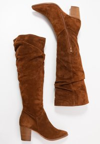 Anna Field - LEATHER BOOTS - Boots - cognac - 2