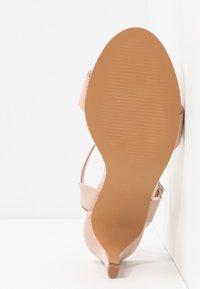 Anna Field - Korolliset sandaalit - nude - 6