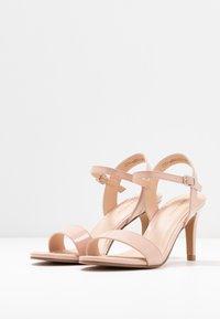 Anna Field - Korolliset sandaalit - nude - 4