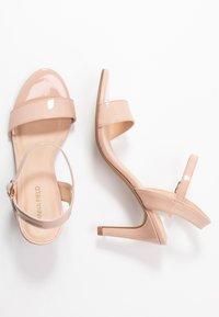 Anna Field - Korolliset sandaalit - nude - 3