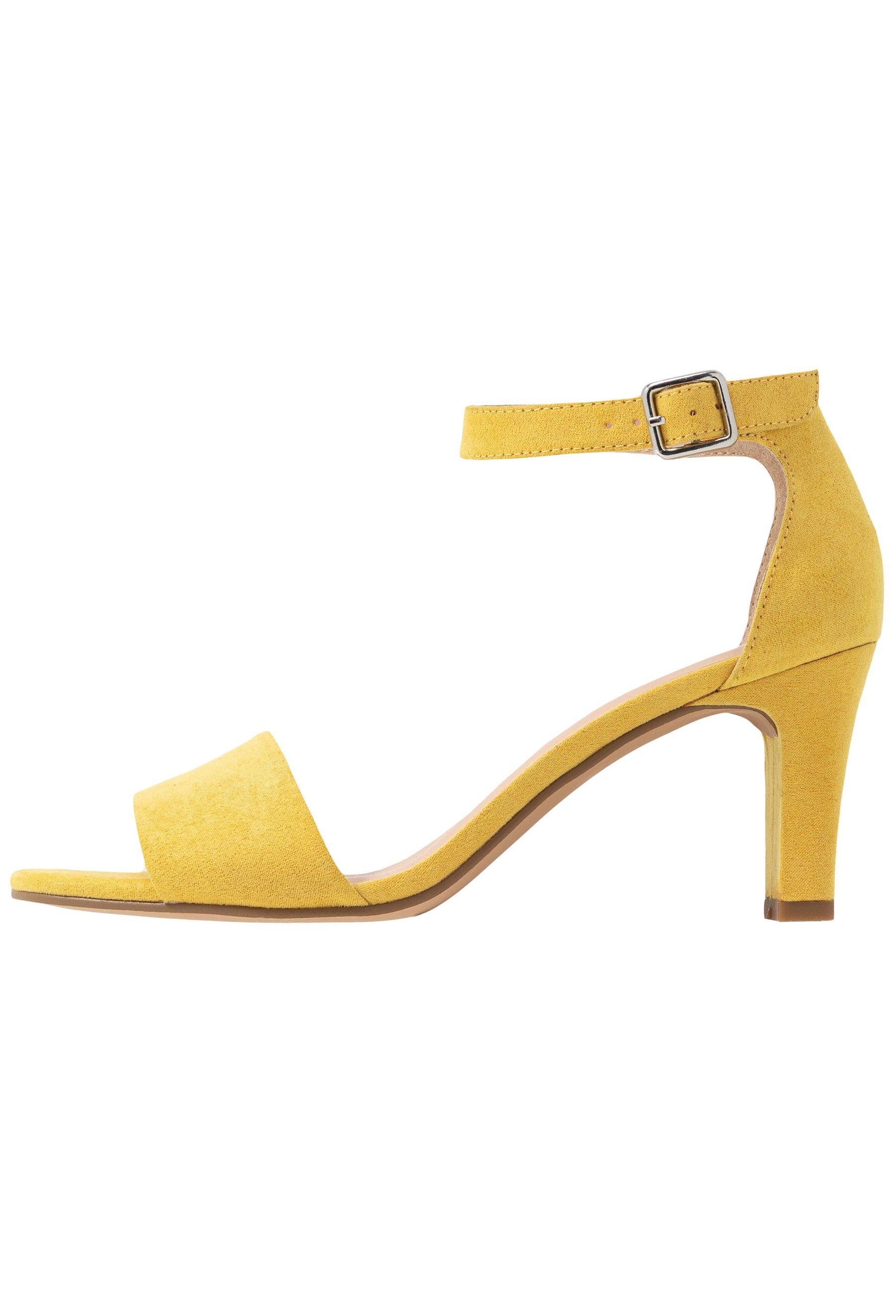 Anna Field Sandały yellow Zalando.pl