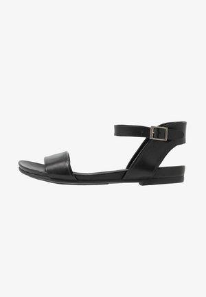 LEATHER SANDALS - Sandals - black