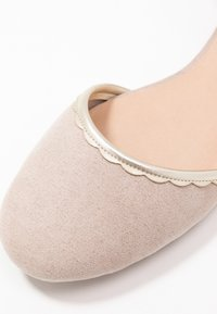 Anna Field - Ankle strap ballet pumps - nude - 2