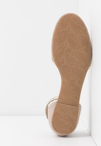 Anna Field - Ankle strap ballet pumps - nude - 6