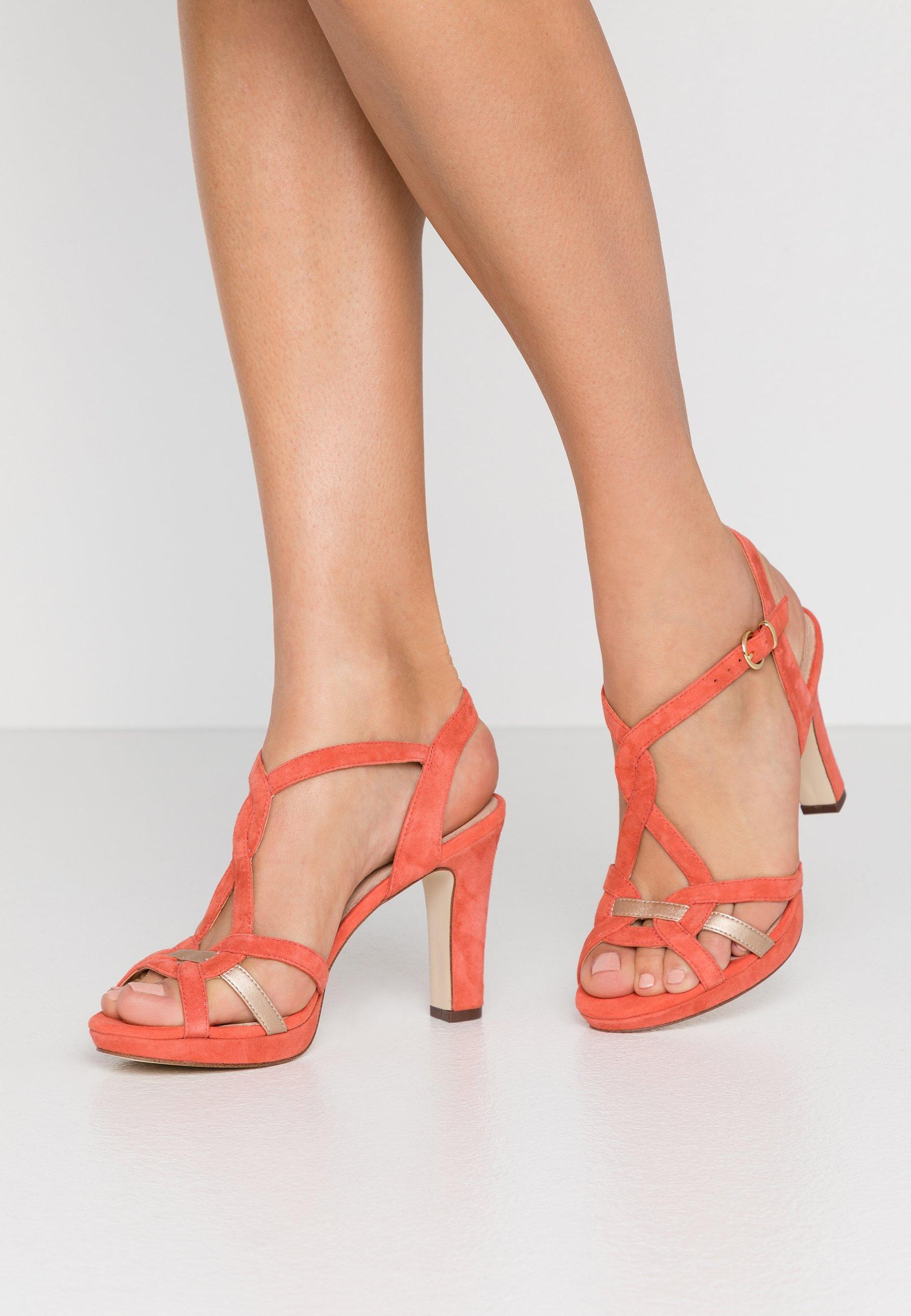 Sandali da donna rosso | La collezione su Zalando