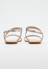 Anna Field - LEATHER FLAT SANDALS - Sandals - silver - 3