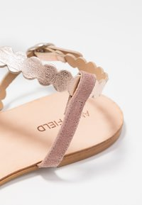 Anna Field - LEATHER SANDALS - Sandály - rose - 2