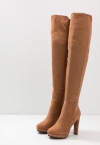 Anna Field - High heeled boots - cognac - 4