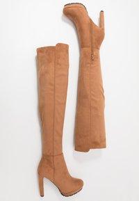 Anna Field - High heeled boots - cognac - 3
