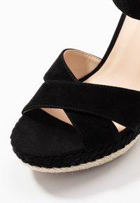 Anna Field - LEATHER - Sandály na vysokém podpatku - black - 2