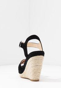 Anna Field - LEATHER - Sandály na vysokém podpatku - black - 5