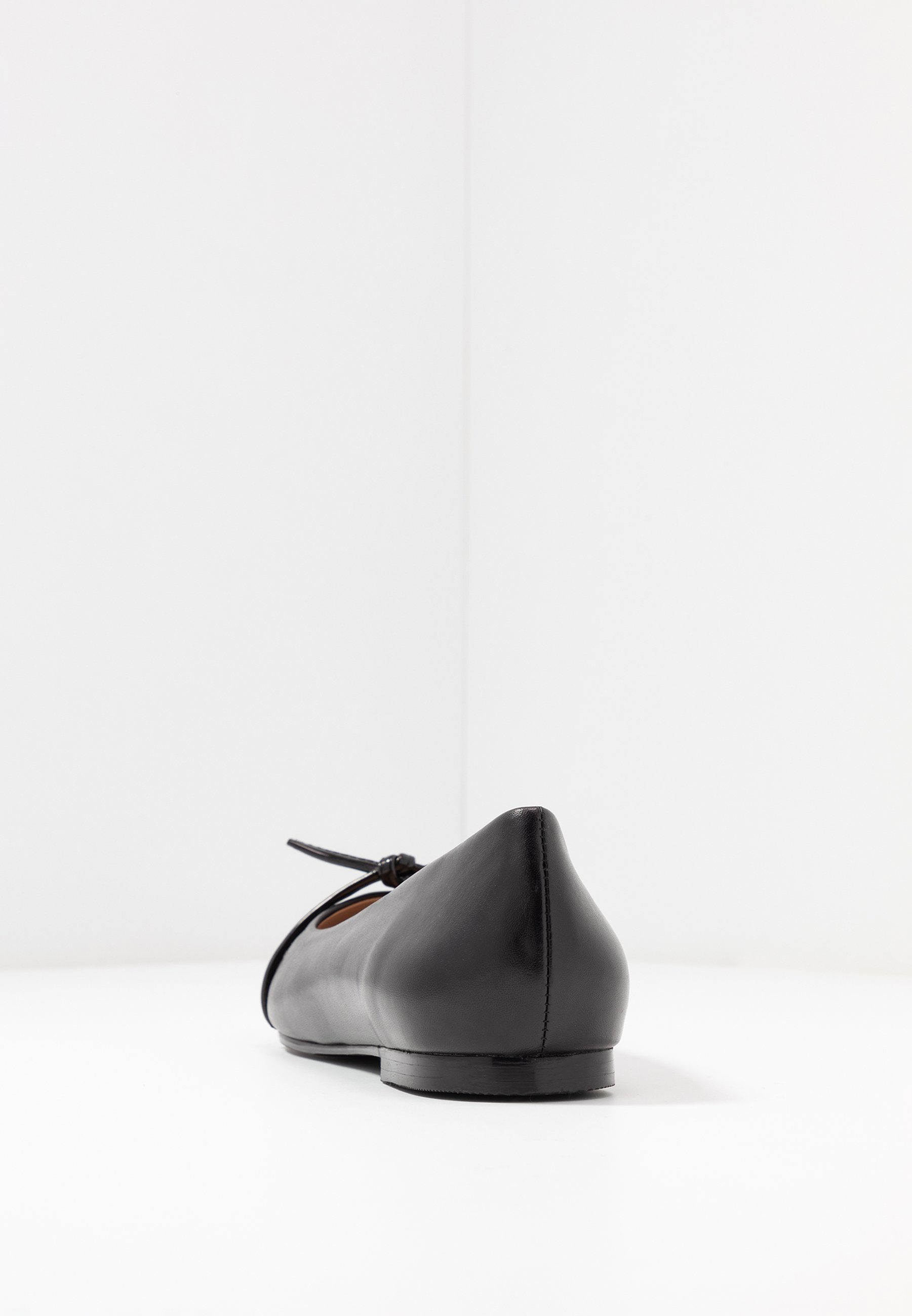 Anna Field Leather Ballerina - Ballerine Black bts2Q