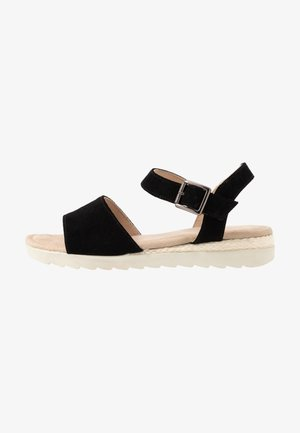 LEATHER - Sandalias - black