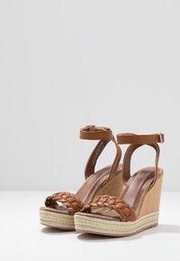 Anna Field - High Heel Sandalette - cognac - 4
