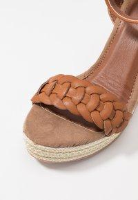 Anna Field - High Heel Sandalette - cognac - 2