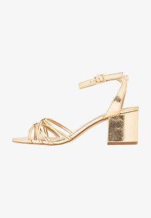 Sandály - gold