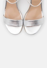Anna Field - LEATHER SANDALS - High heeled sandals - silver - 5