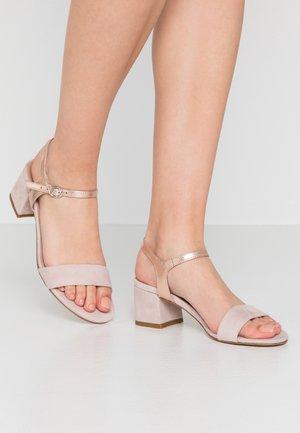LEATHER - Sandaler - nude