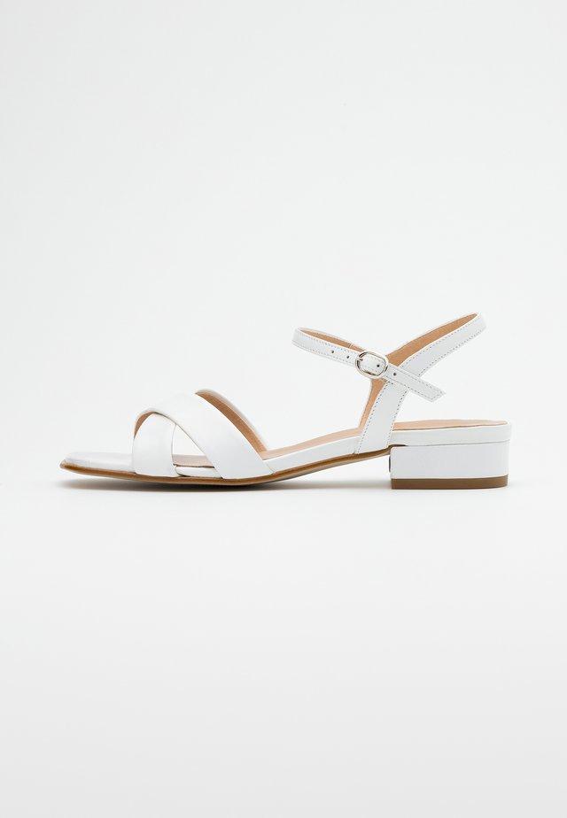 LEATHER - Sandaler - white